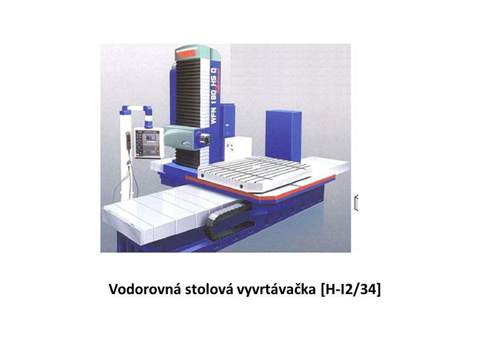 Vodorovná stolová vyvrtávačka [H-I2/34]